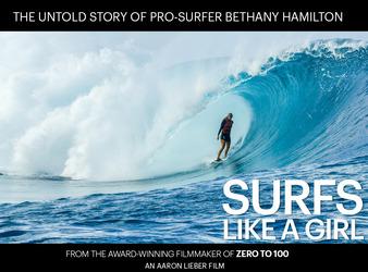 Surfs like a girl, el proyecto de Bethany Hamilton