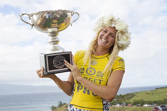 Stephanie Gilmore campeona del mundo por sexta vez