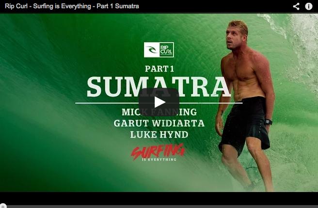 Mick Fanning en Sumatra - Video